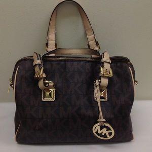 Michael Kors Brown/Tan Handbag